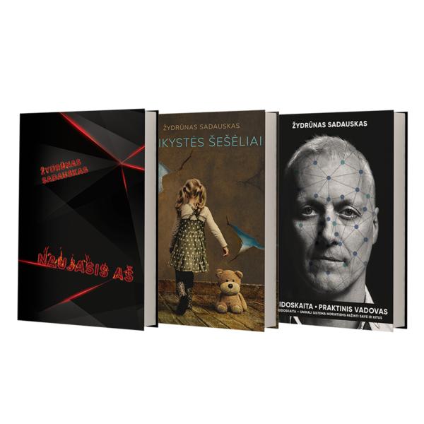 3 knygos Zydrunas Sadauskas 50eur