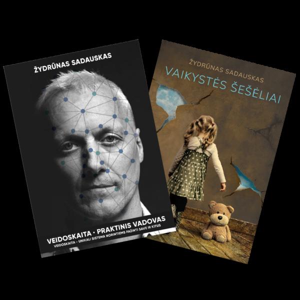 Veidoskaita & Vaikystės šešėliai knygos